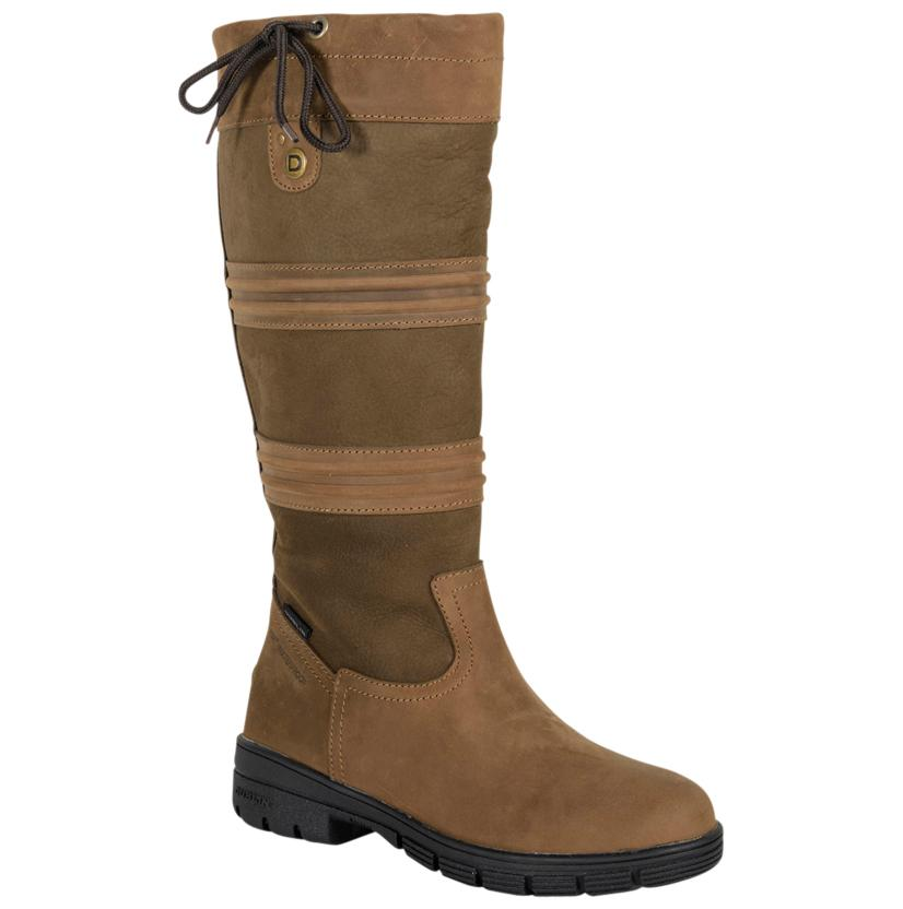 Dublin Husk Chocolate Waterproof Ladies Boots