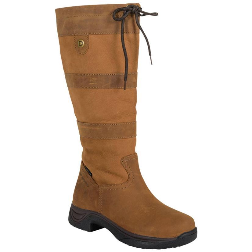 Dublin River Tall Brown Waterproof Ladies Boots