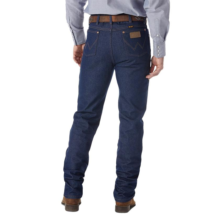 Wrangler Men ' S Cowboy Cut Slim Fit Jeans - Rigid Indigo