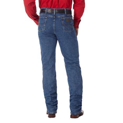 Wrangler Mens George Strait Slim Fit Jean – Stonewash (Extended Length)