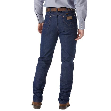 Wrangler Mens Slim Fit Cowboy Cut Jean - Rigid Indigo (Extended Length)