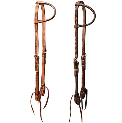 STT Basketweave Slide Ear Headstall