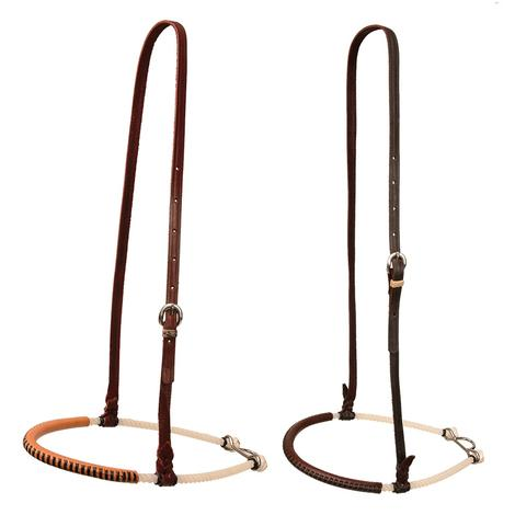Single Rope Noseband with Laced Leather