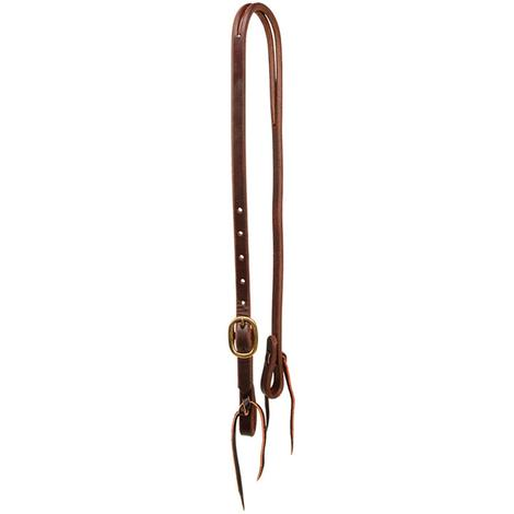 Slit Ear Headstall Oiled Leather