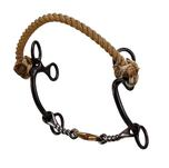 Dutton Combo Hackamore Twisted Wire Bit