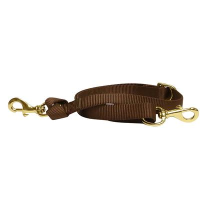 Nylon Tie Down Strap | Purchase a Weaver Leather Bridle Nylon Tie Down Strap With South Texas Tack BROWN