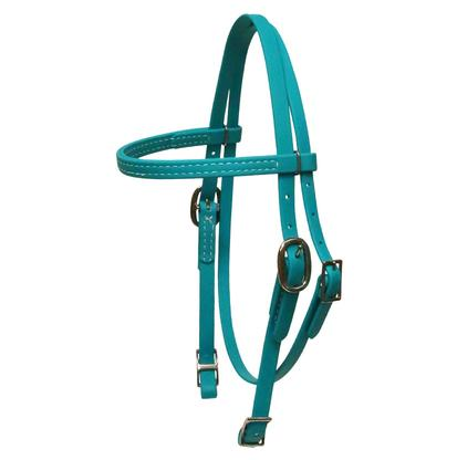 Biothane Pony Browband Headstall TEAL