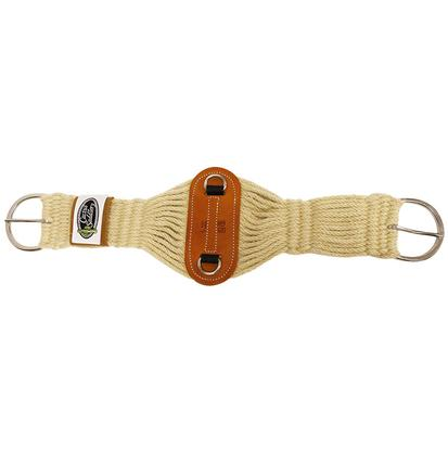 Cactus Saddlery Mohair Roper Cinch W/Leather