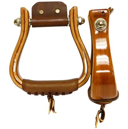 Don Orrell Flat Bottom Red Cedar Petite Stirrup
