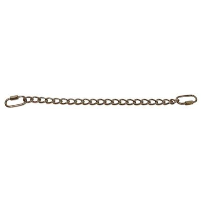 Stainless Steel Curb Chain With Snap Hooks