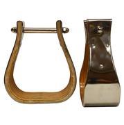 Weber Bell Monel Stirrups 3`
