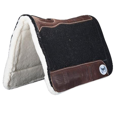 Relentless Extreme Gel 1 Inch Roper Black Saddle Pad