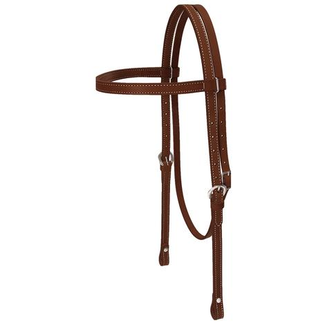 Leather Draft Horse Headstall