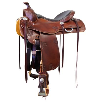 Trail Saddle with Square Skirt