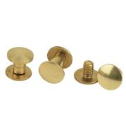 Brass Chicago Screws - 6pk