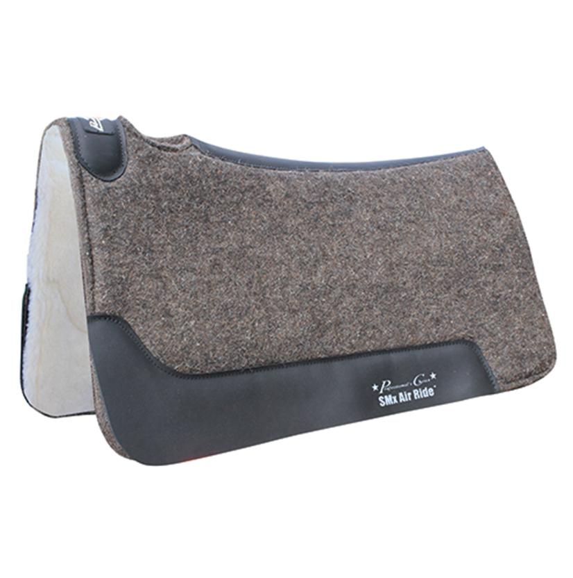 Deluxe Cowboy Felt Air Ride Roper Pad 31 1/2 X 34 CHARCOAL