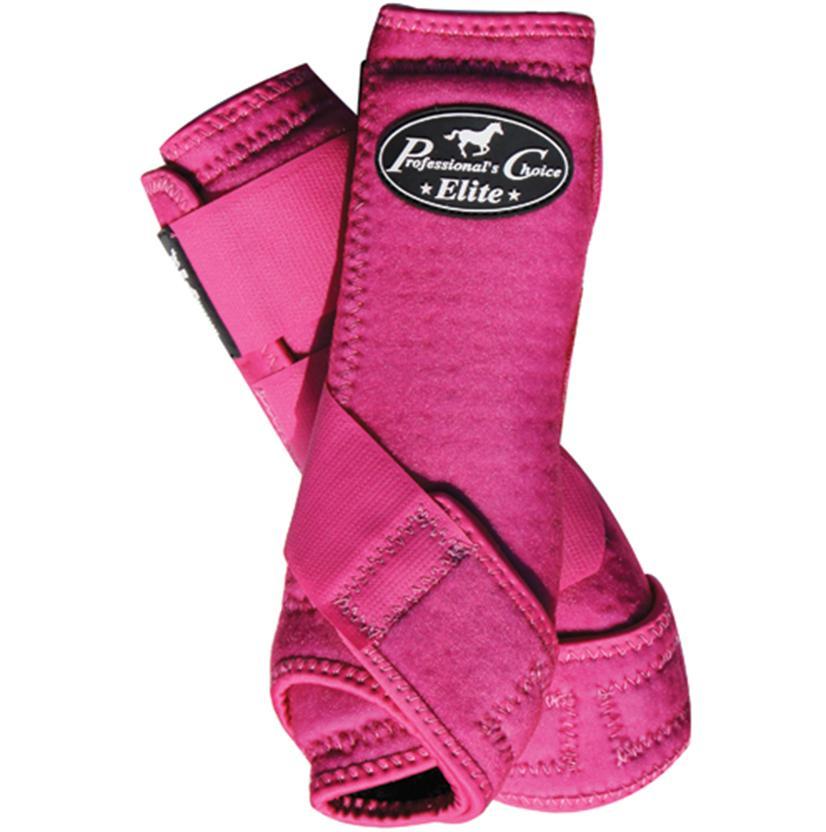 Professional Choice VenTECH Elite Sports Medicine Boots - 4 pack RASBERRY