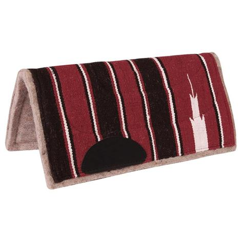 Mustang Navajo Pony Saddle Pad Fleece Bottom
