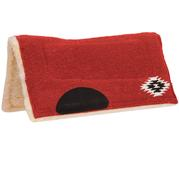 Mustang Pony Navajo Contoured Pad RED