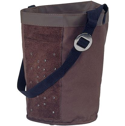 Mustang Canvas Feed Bag BROWN