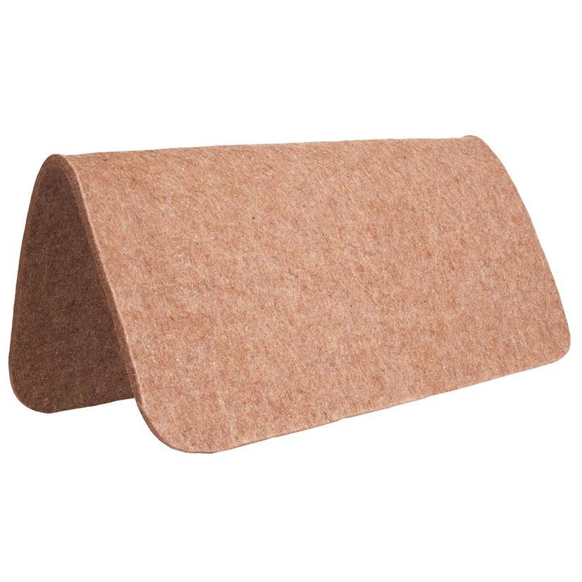 Mustang 100 % Tan Wool Pad Protector