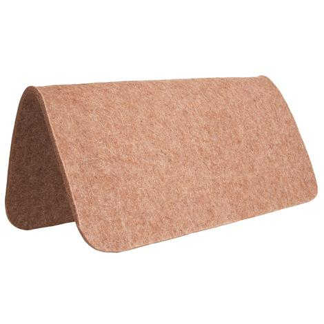 Mustang 100% Tan Wool Pad Protector