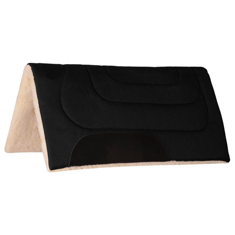 Mustang Cordura Top Saddle Pad BLACK