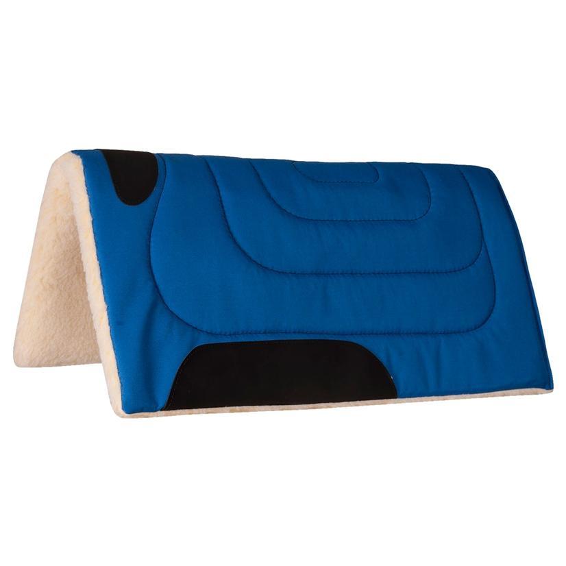 Mustang Cordura Top Saddle Pad ROYAL_BLUE