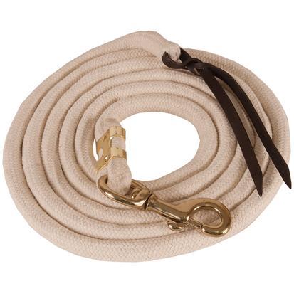 Mustang Pima Cotton Lead Rope TAN
