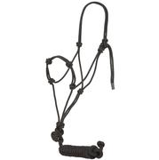 Mustang Knotted Training Halter BLACK