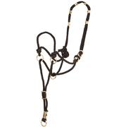 Mustang Braided Control Halter BLACK