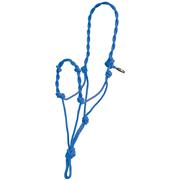 Mustang Twisted Rope Halter ROYAL_BLUE