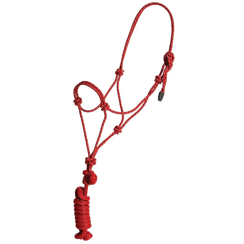 Mustang Colt Rope Halter And Lead