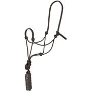 Mustang Economy Mountain Rope Halter BLACK
