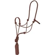 Mustang Economy Mountain Rope Halter BROWN
