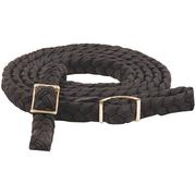 Mustang Braided Roping Reins BLACK