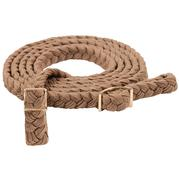 Mustang Braided Roping Reins TAN
