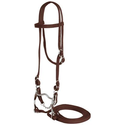 Mustang Horse Bridle BROWN