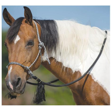 Mustang Deluxe Bitless Bridle