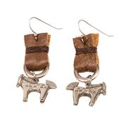 Lucky Lou Designs Aztec Horse Earrings
