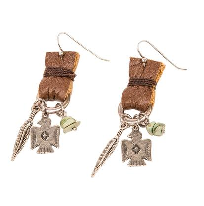 Lucky Lou Designs Peyote Bird Earrings