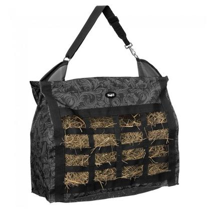 Leather Tool Print Topload Haybag BLACK_TOOL