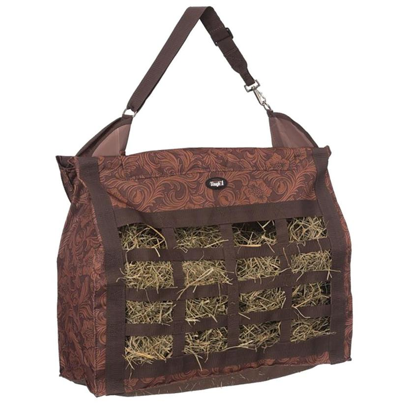 Leather Tool Print Topload Haybag BROWN_TOOL