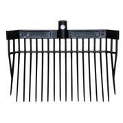 Partrade Stall Fork Head BLACK