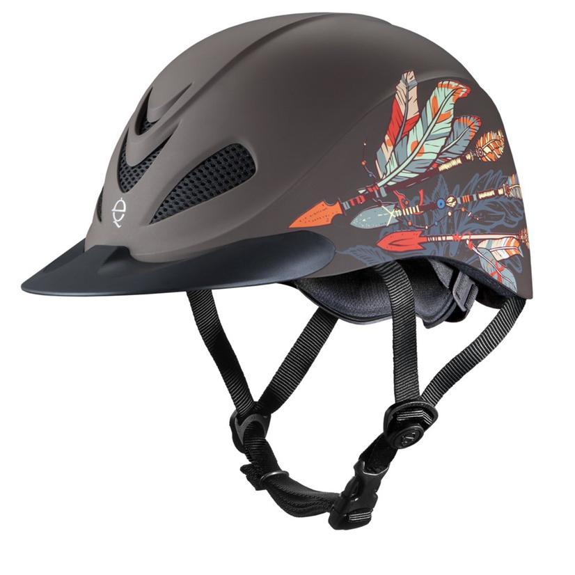 Rebel Low Profile Western Helmet ARROW