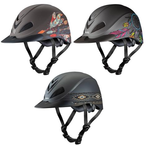 Rebel Low Profile Western Helmet