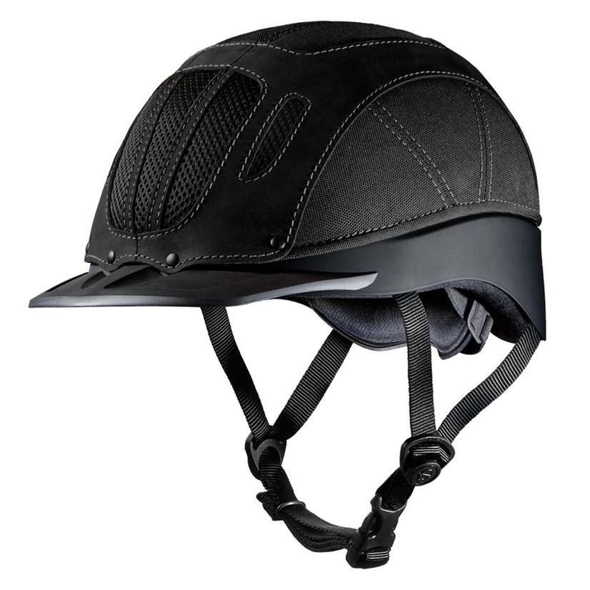 Sierra Rugged Western Riding Helmet BLACK