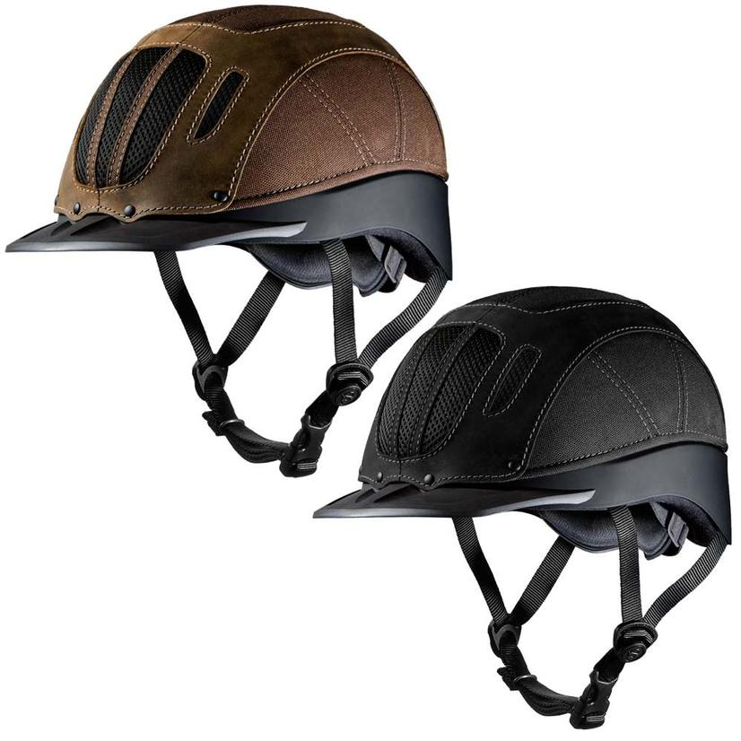 Sierra Rugged Western Riding Helmet