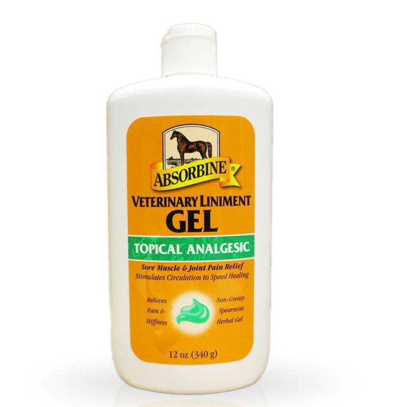 Absorbine Veterinary Liniment 12 Oz Gel