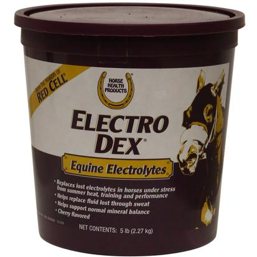 Horse Health Electro Dex Electrolytes 5 Lb.Pail